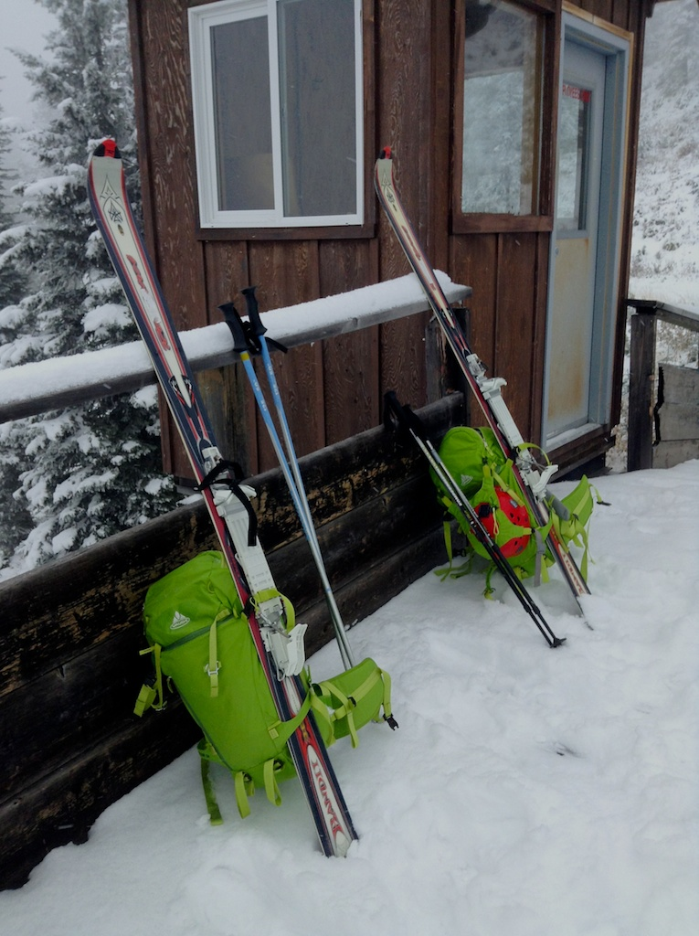 Our two, one-ski packs