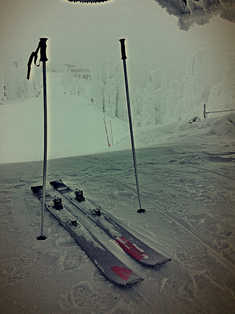 December - Skiing Again!