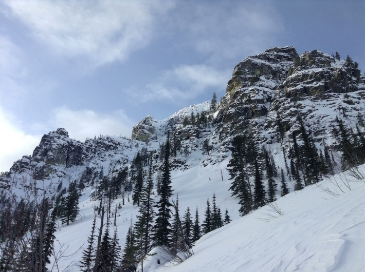 Potential Avalanche Slopes