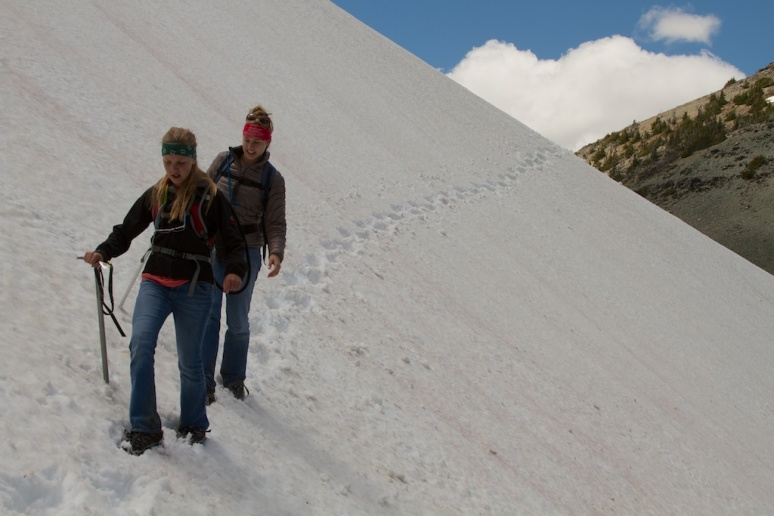 Re-crossing the Snowfields
