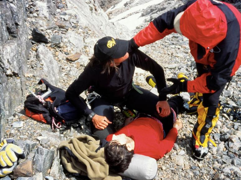A Deceased Climber on K2