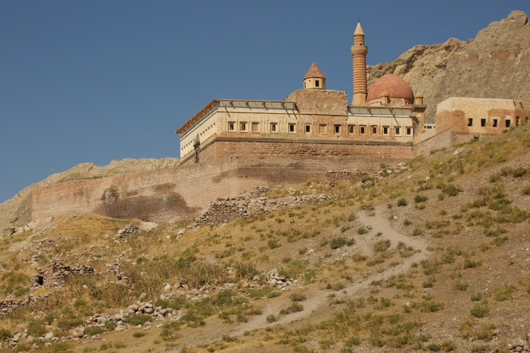 Pasha Palace, Just up the hill from Camp M
