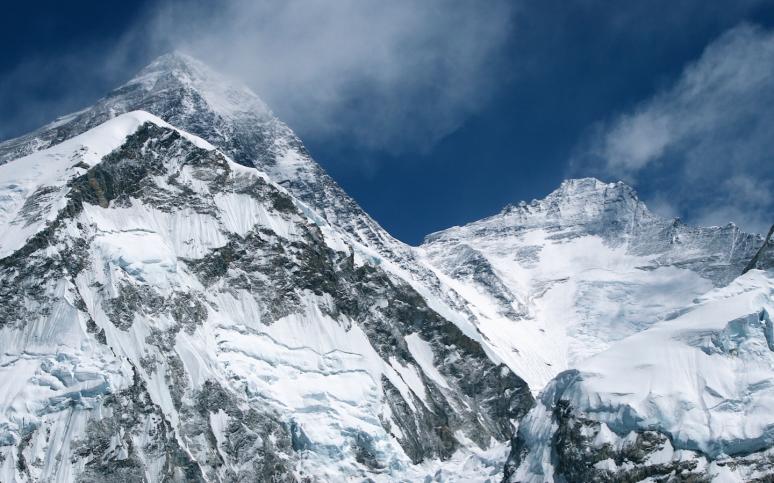 Mt. Everest and Lhotse