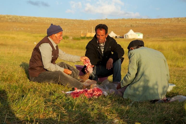 Nomads Preparing Dinner