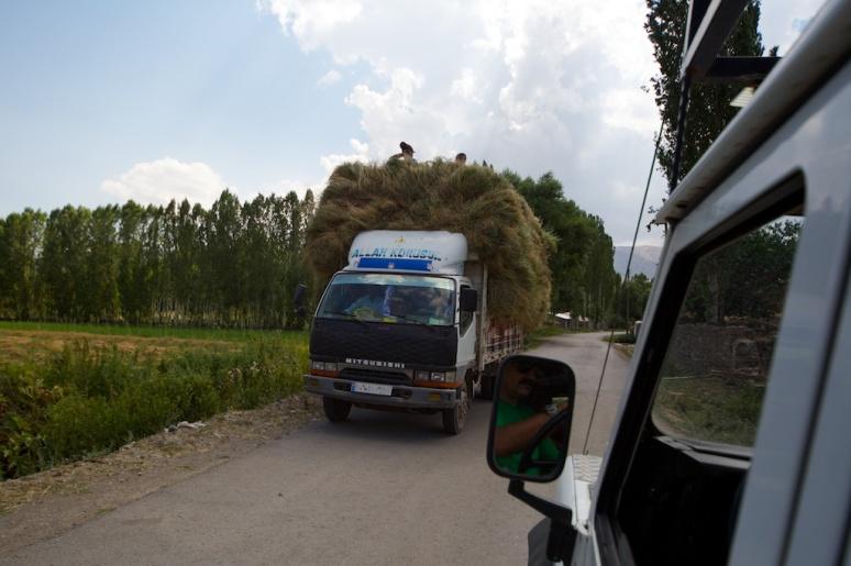 A Moving Haystack