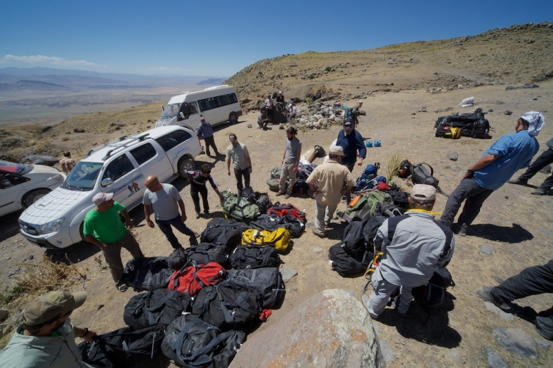 Sorting Our Small Mountain of Gear
