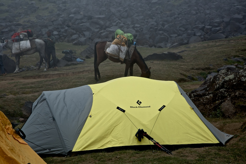 A Bleak Day at 3200 Meters : bombshelter tent - memphite.com