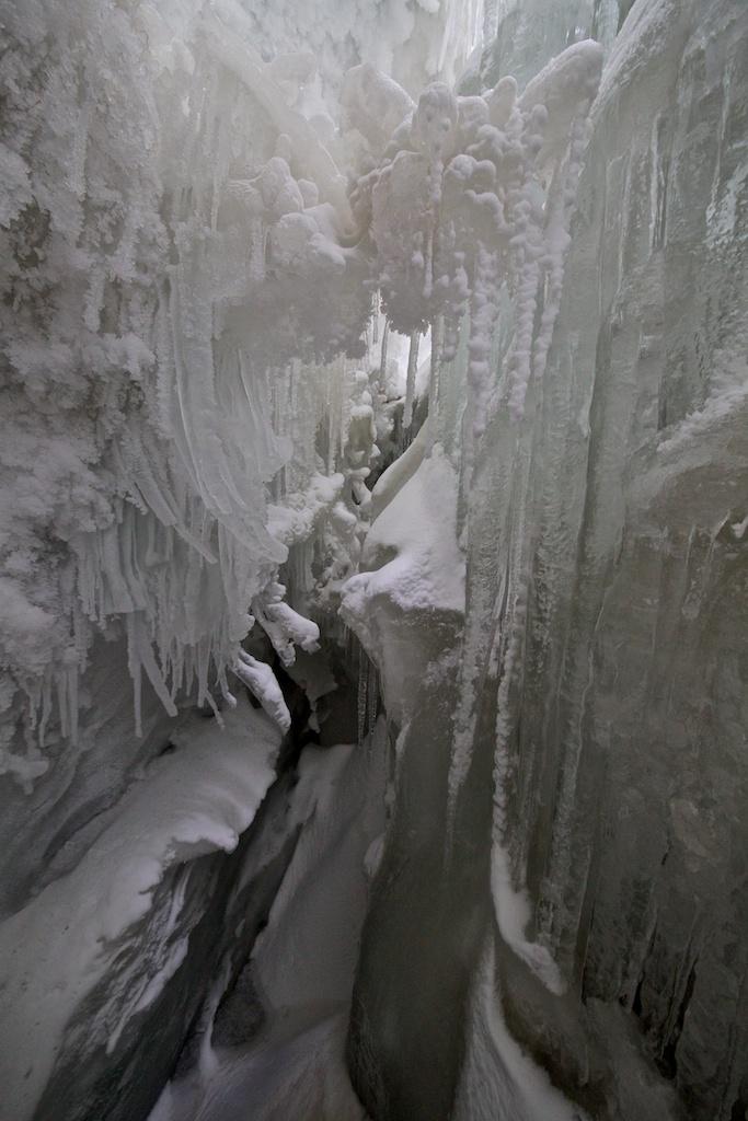 Crevasse Scenery