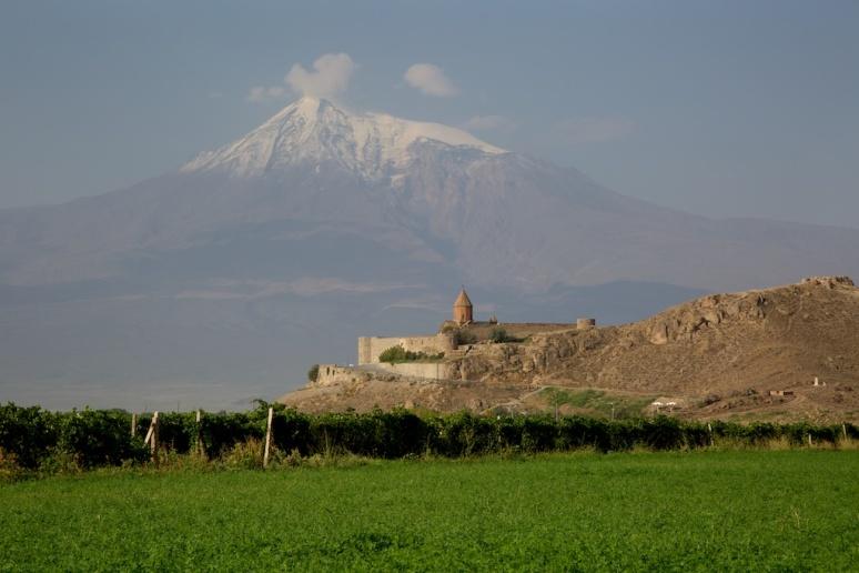 Monastery and Mt. Ararat